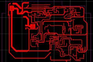 电子产品PCB布线图